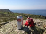 Land's End - a celebratory beer
