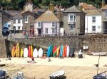 Mousehole - colourful boats