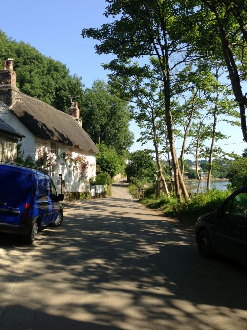 Helford Village - another bright day