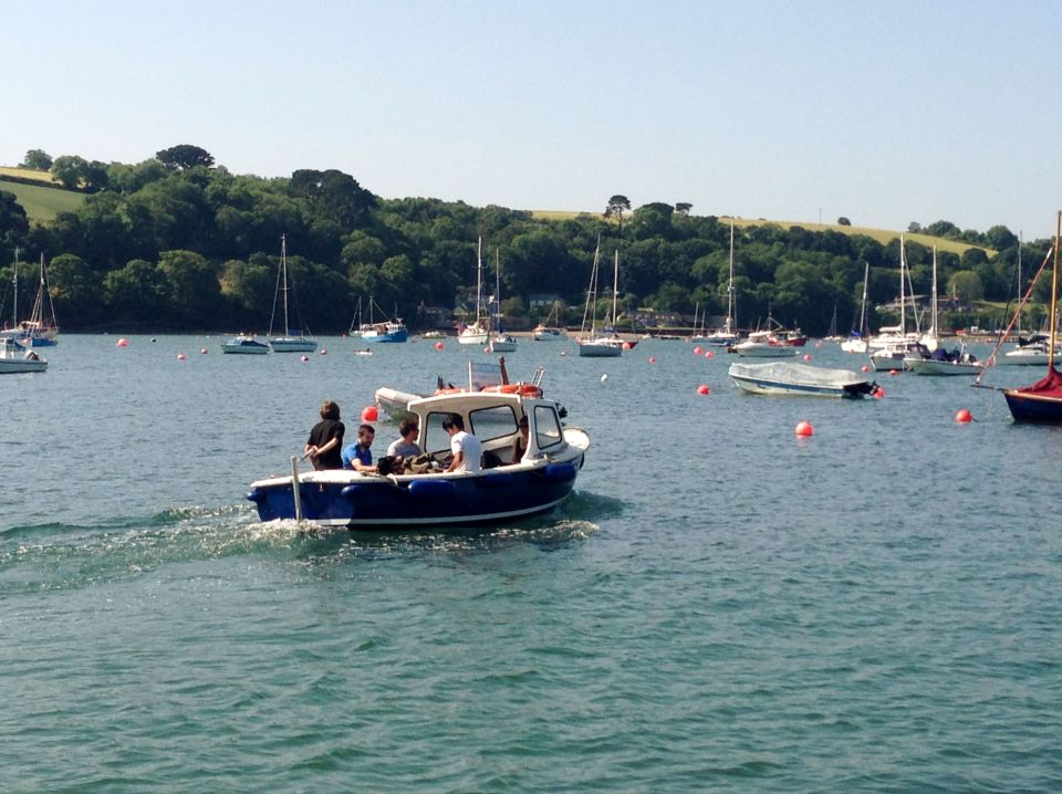 Helford River ferry boat
