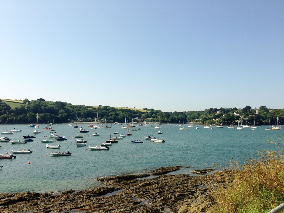 Helford River - view fom other side