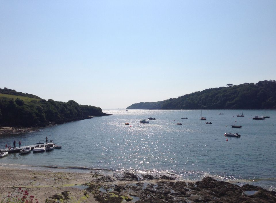 Helford River - looking out towards the sea