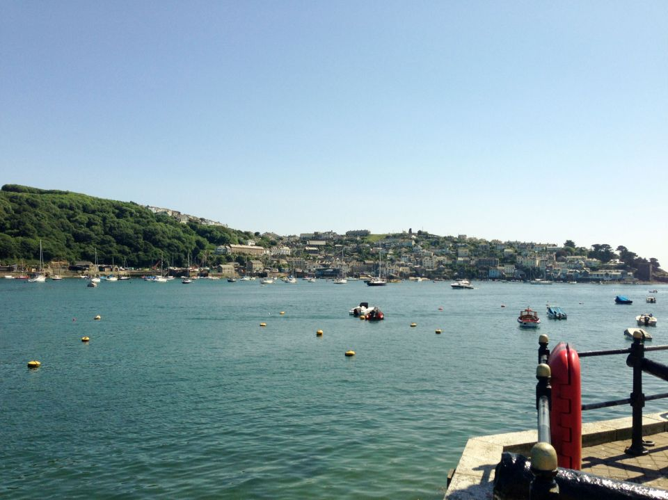 Fowey - looking over to Polruan