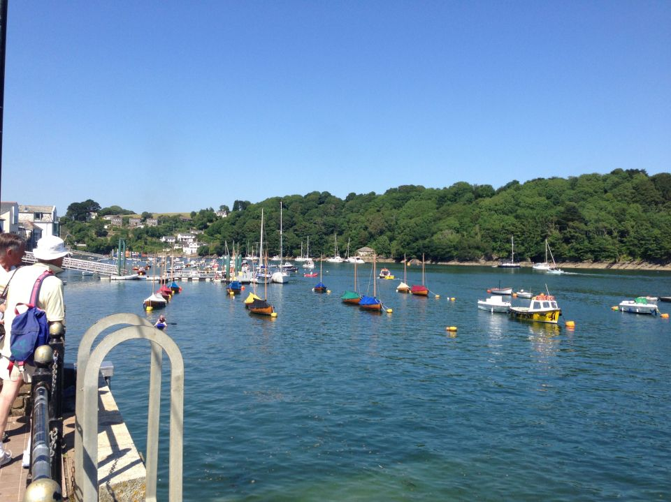 Fowey - lots of small boats