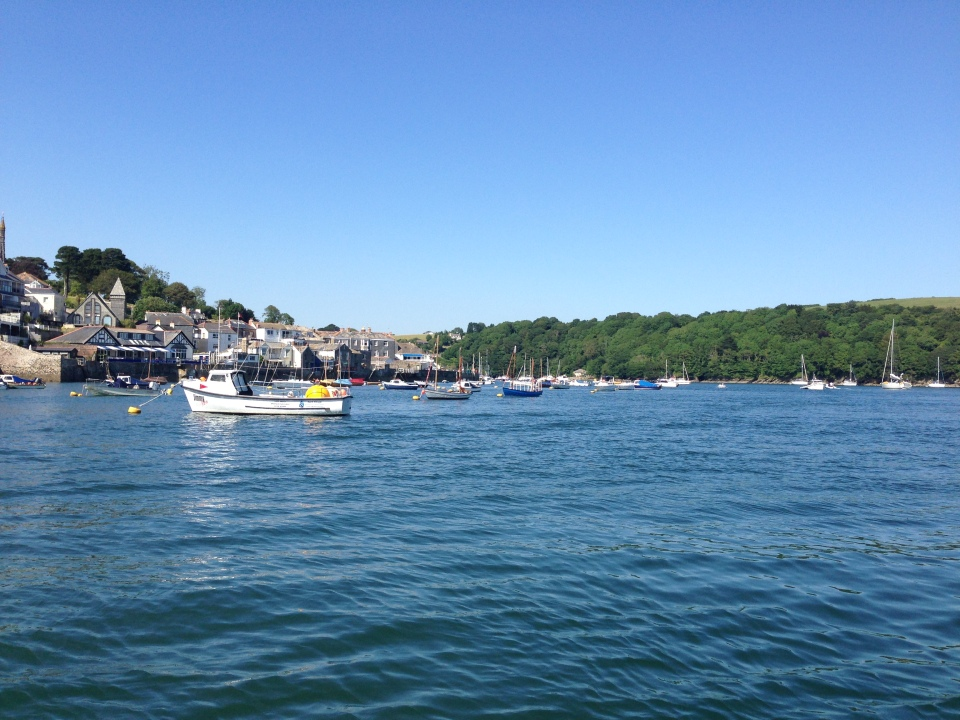 Fowey - crossing the river 2