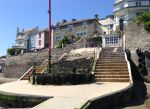 Salcombe - more steps to carry bike down