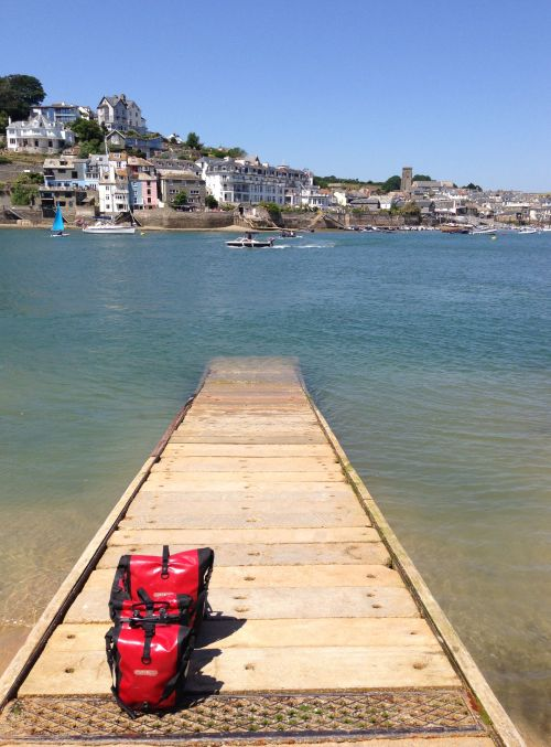 East Portlemouth jetty - looking back to Salcombe