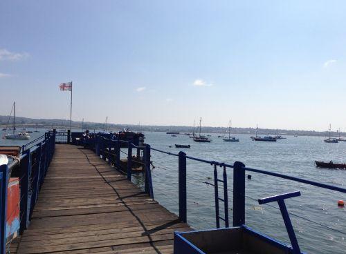 Starcross Ferry pontoon