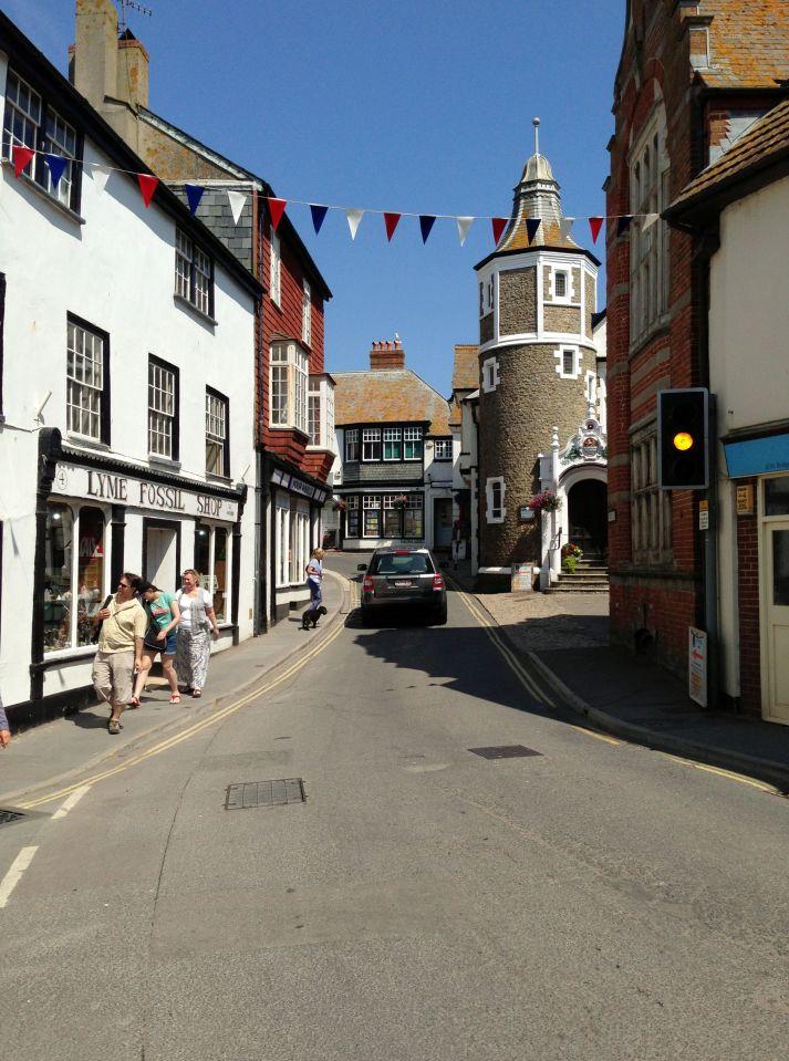 Lyme Regis town
