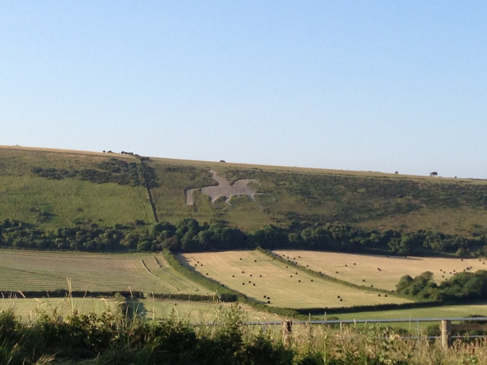 The Osmington White Horse