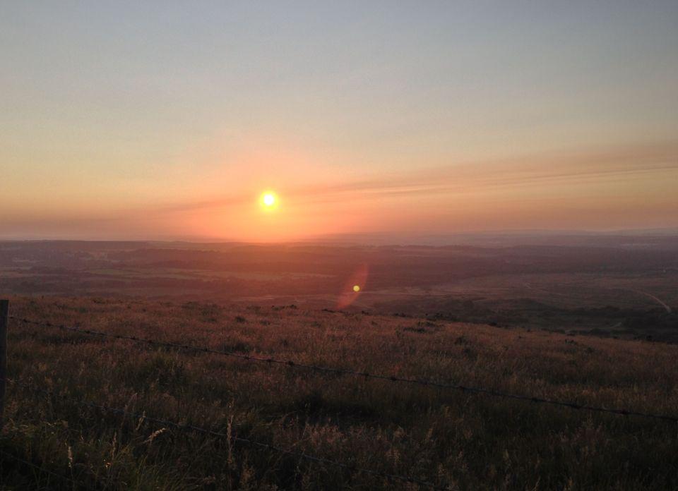 Purbecks sunset 3