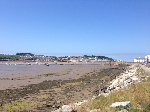 Limping to Bideford - still a lovely day though