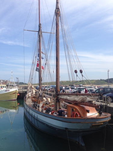 Padstow Harbour, nice boat