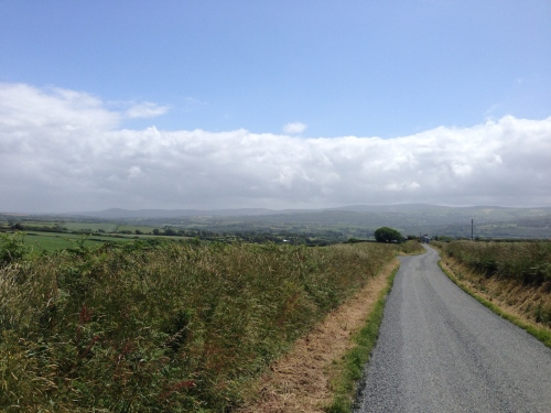 Pedalling over Welsh hills to Newport