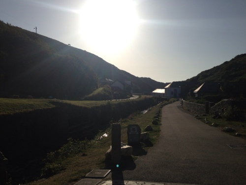 Road out of Boscastle