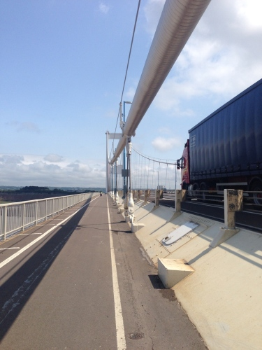 Severn Bridge cycle path