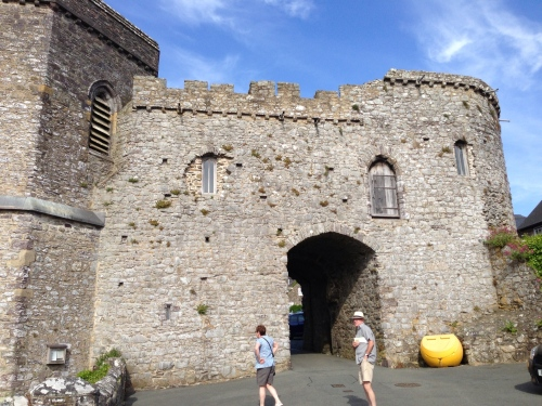 St David's town wall