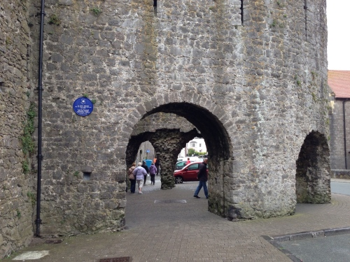 Tenby Five Arches Gate