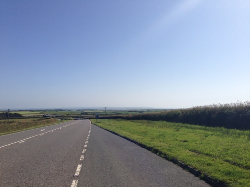 The A39 to Cornwall