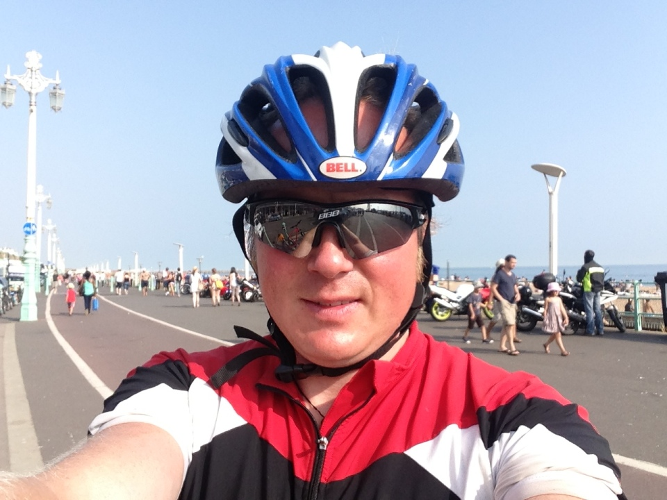 Me on Brighton seafront