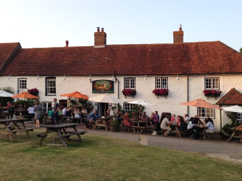 Tiger Inn - busy evening