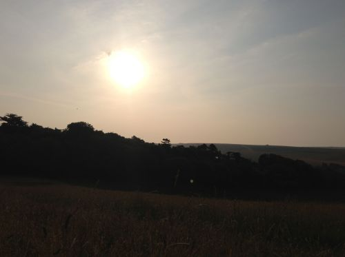 05.00 on the South Downs