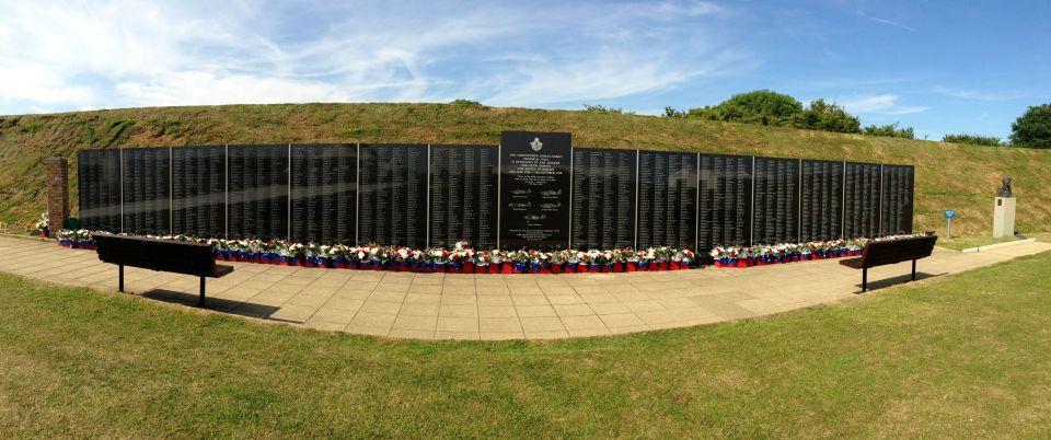 Battle of Britain memorial wall