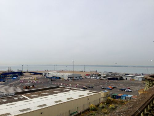 Ramsgate seafront - not terribly inspiring at this point
