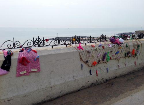Broadstairs knitting bomb