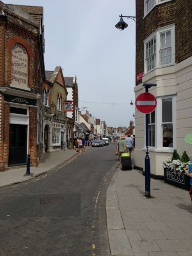 Whistable high-street