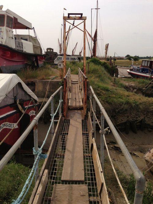Footbridge near Faversham