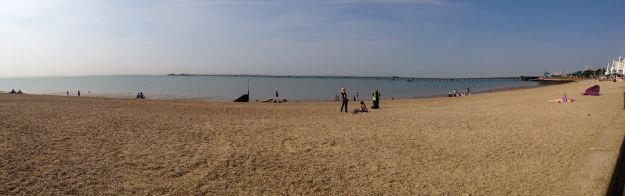 Southend-on-Sea - beach panorama