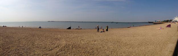 Southend-on-Sea - beach panorama