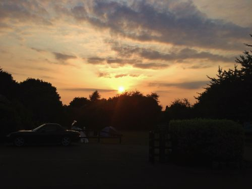Sunset in Colchester