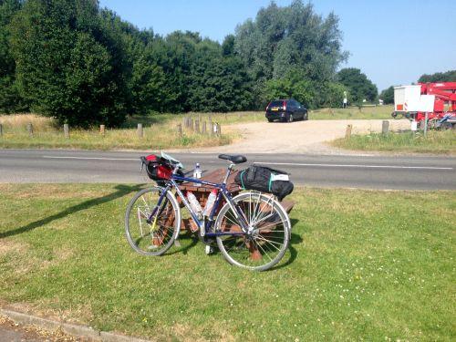 Bike sans Panniers, ready for Tour de Latitude