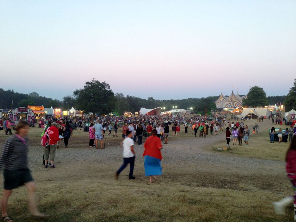 Latitude Festival field