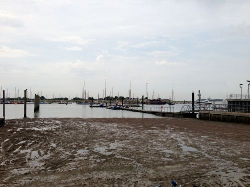 Brightlingsea marina and mud