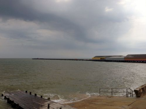 Clacton-on-Sea 2 - grey day at the moment