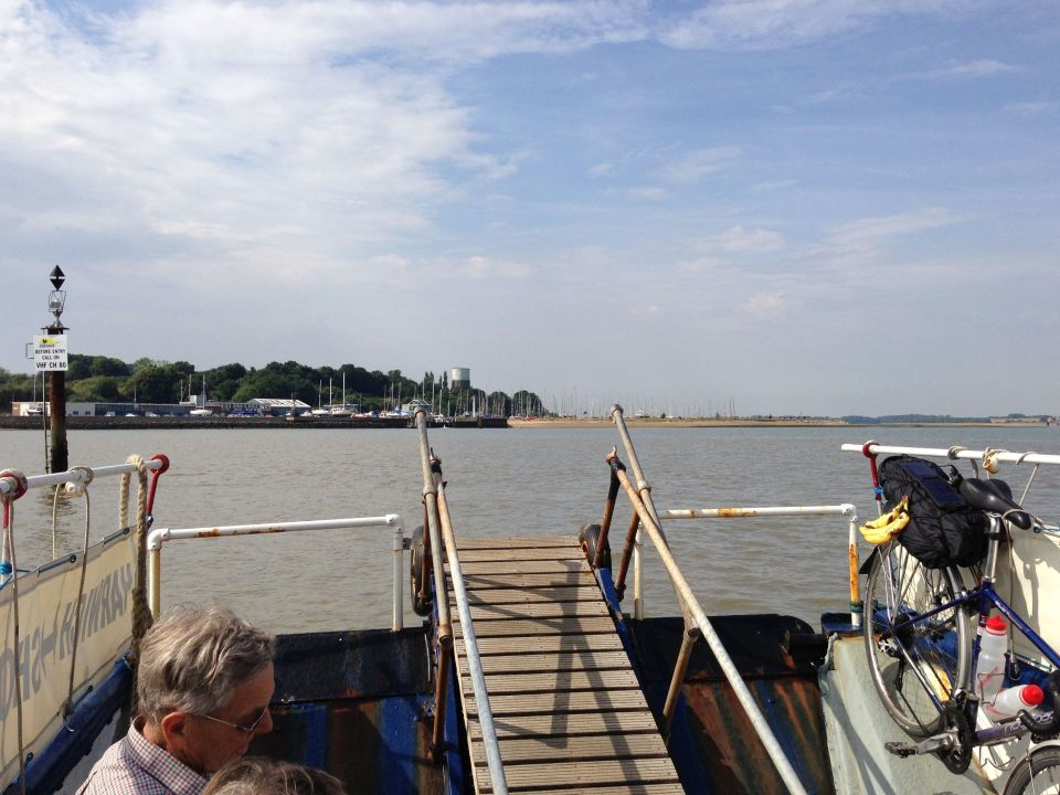 Harwich ferry to Shotley Gate 2