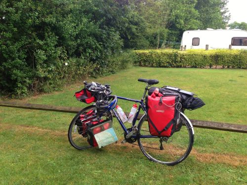 Final day - bike packed and ready