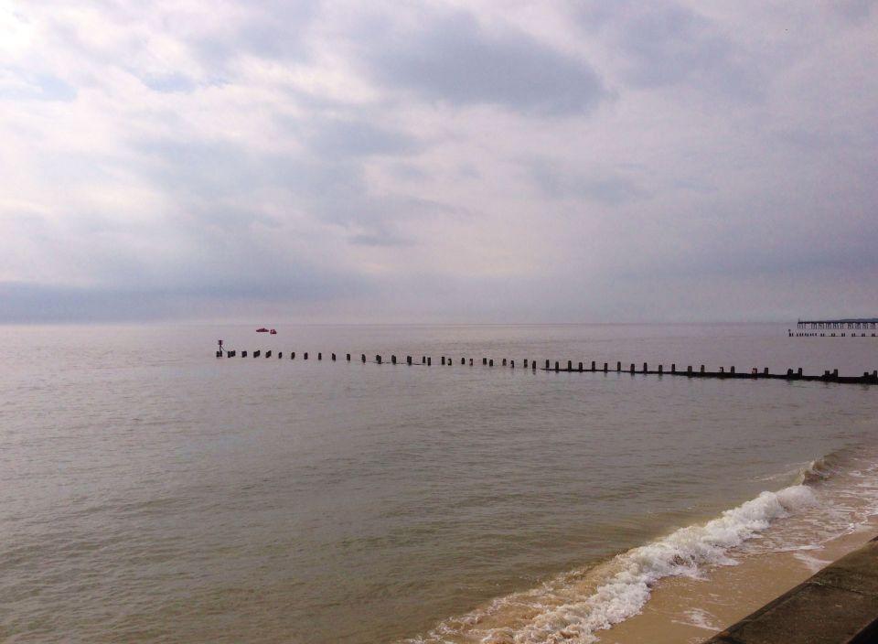Lowestoft - grey skies