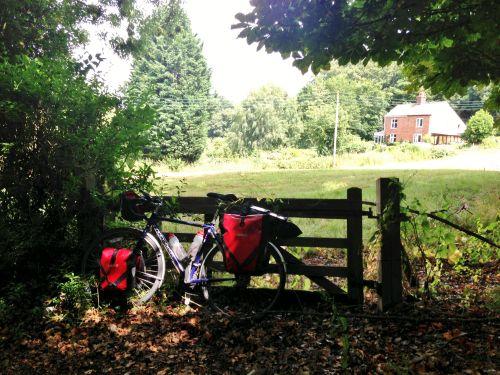 Brief pause near Bramerton