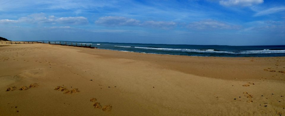 Waxham Sands - panorama