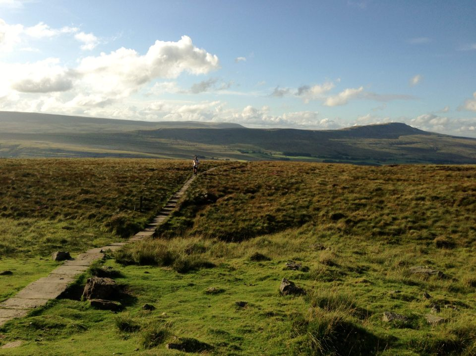 Ingleborough - just after the dead man's marshes