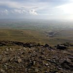 Ingleborough - now to get down