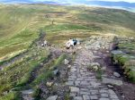Ingleborough - there was no escalator