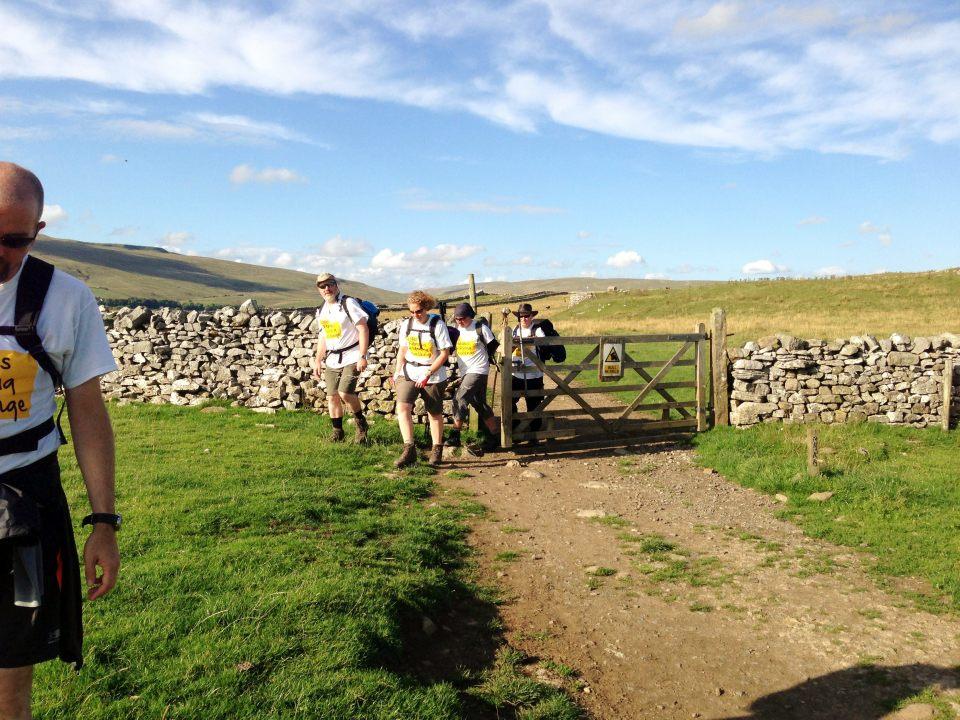 Inngleborough - onwards up last peak