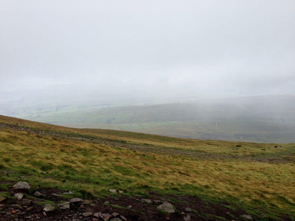 Pen y ghent - did I mention the foul weather