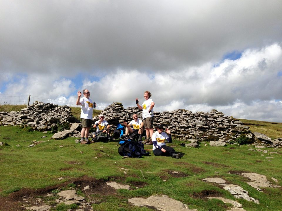 Whernside - morale holding out