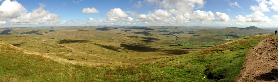 Whernside summit - stunning